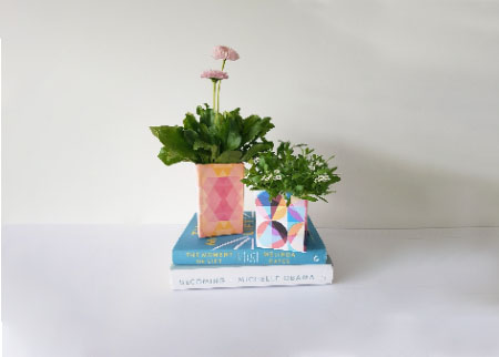 Recycled Flower Planters