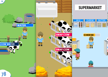 Farm to fridge interactive